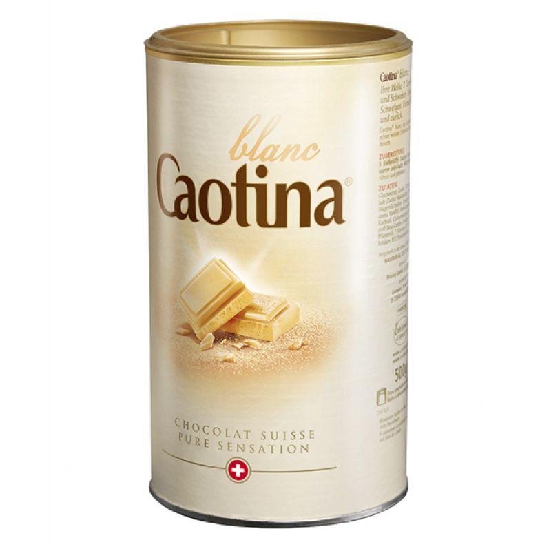 Горячий шоколад Caotina Blanc 500г