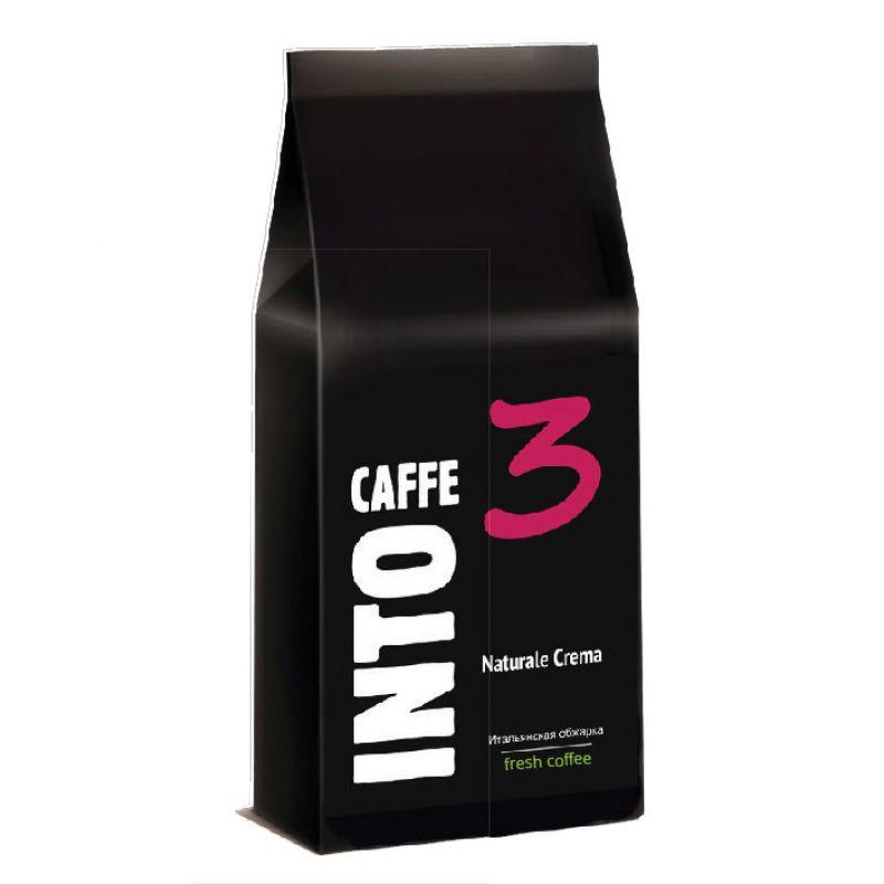Кофе в зернах Into Caffe Naturale Crema, 1 кг