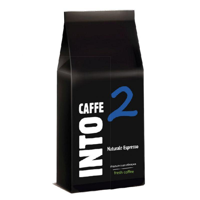 Кофе в зернах Into Caffe Naturale Espresso, 1 кг