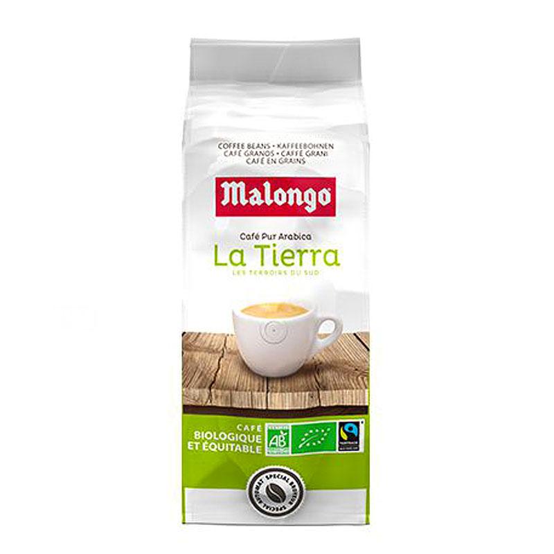 Кофе в зернах Malongo La Tierra Bio Arabica 1кг.