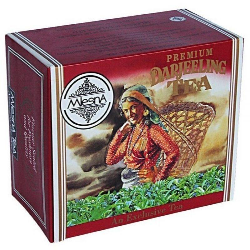 Черный чай Mlesna Дарджилинг в пакетиках 02-023 100г.