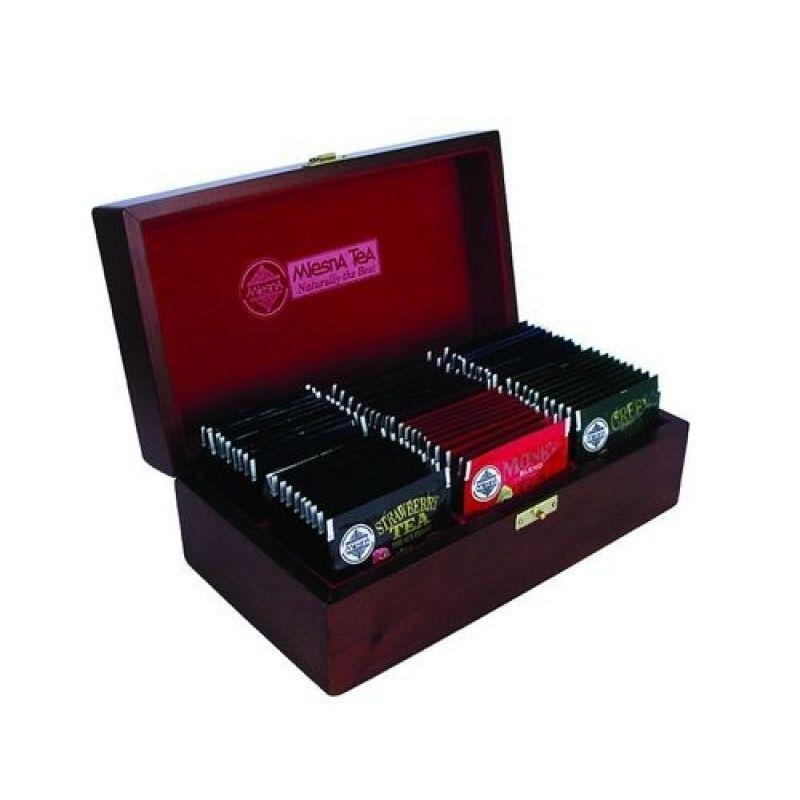 Коллекция знатока 6 видов черного чая Mlesna в пакетиках 04-035 120г.