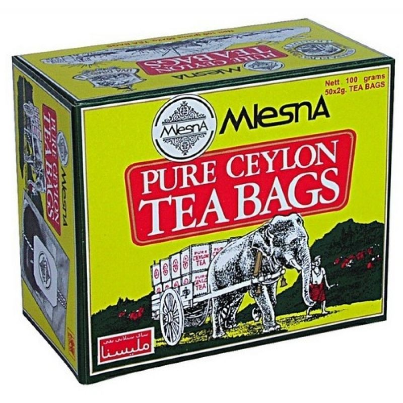 Черный чай Mlesna Слон в пакетиках 02-008 200г.