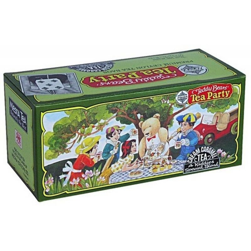 Черный чай Mlesna Медвежонок Тедди в пакетиках 02-037 200г.