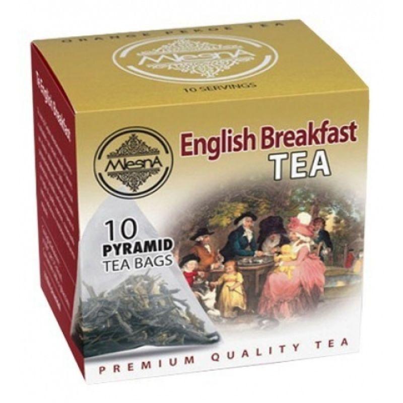 Черный чай Mlesna Английский завтрак в пакетиках 02-095 20г.