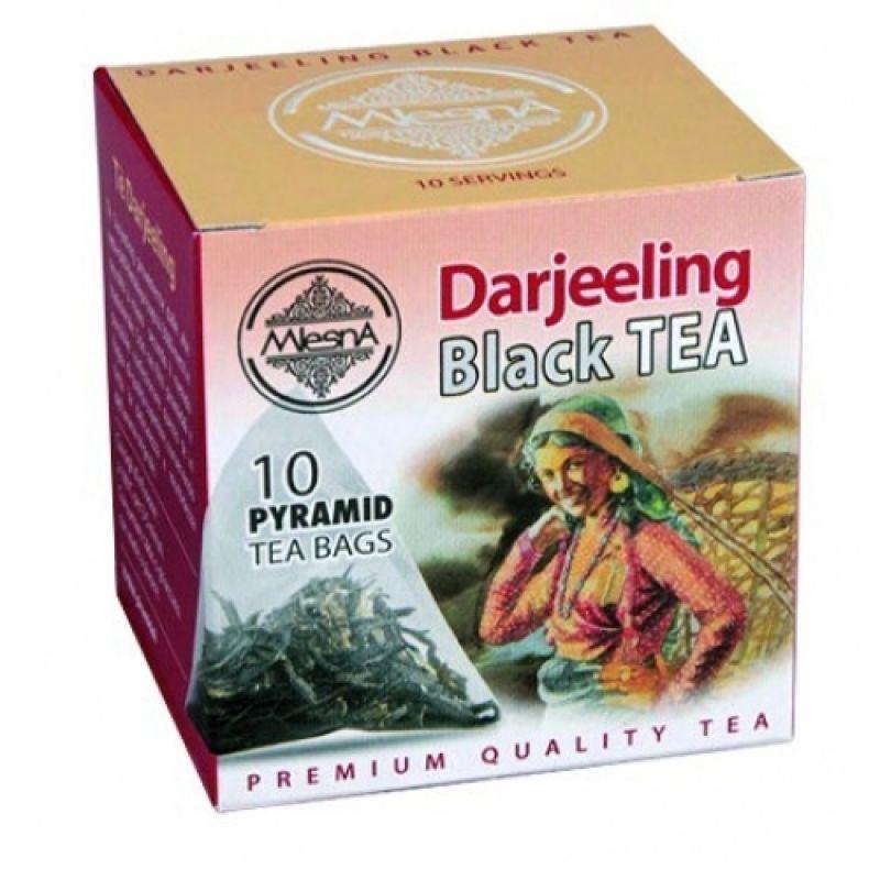 Черный чай Mlesna Дарджилинг в пакетиках 02-094 20г.