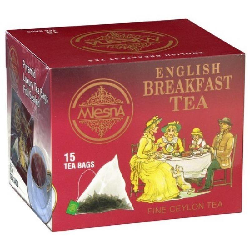 Черный чай Mlesna Английский завтрак в пакетиках 02-097 30г.
