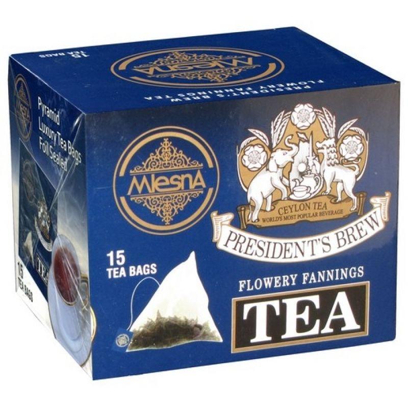 Черный чай Mlesna Президент брю в пакетиках  02-100 30г.