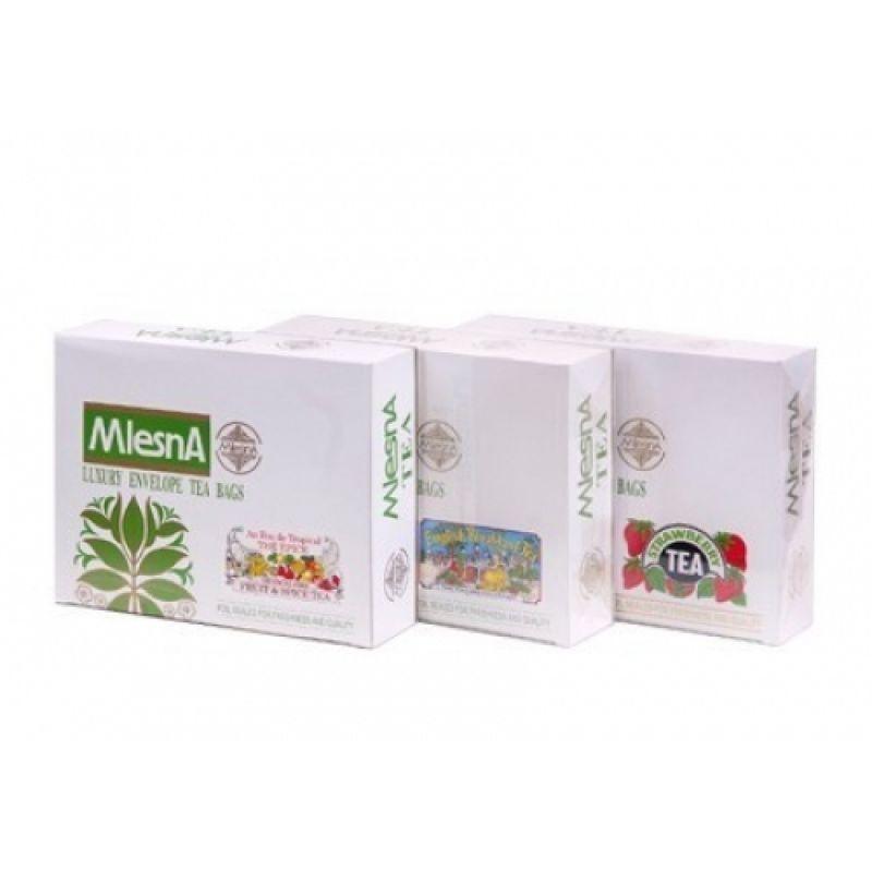 Черный чай Mlesna Клубника в пакетиках 02-055_klubnika 400г.
