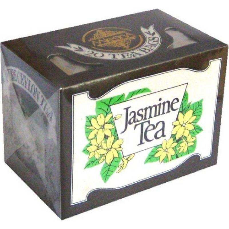 Черный чай Mlesna Жасмин в пакетиках 02-034_zhasmin 40г.