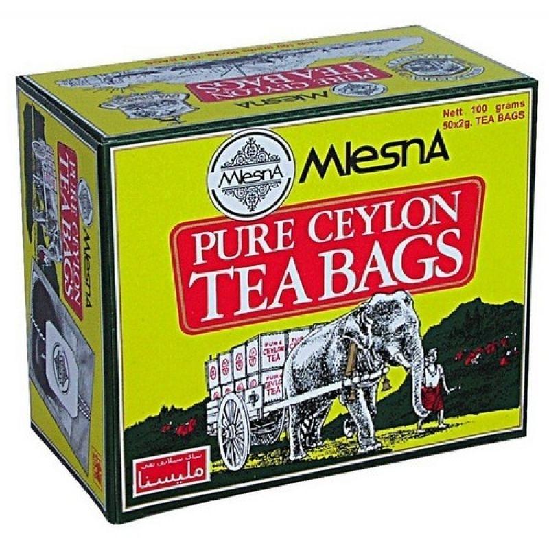 Черный чай Mlesna Слон в пакетиках 02-006 50г.