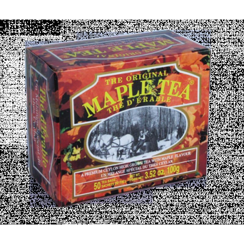 Черный чай Mlesna Кленовый сироп в пакетиках 100г