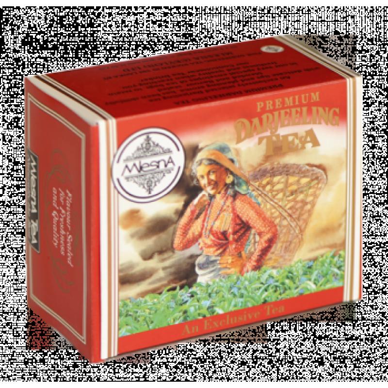 Черный чай Mlesna Дарджилинг в пакетиках 100г