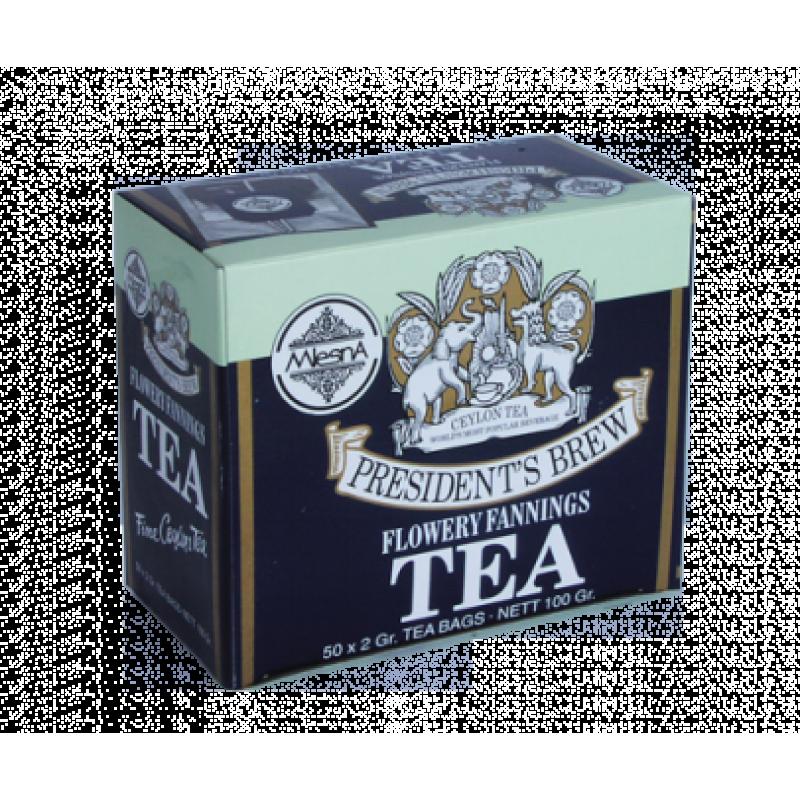 Черный чай Mlesna Президент Брю в пакетиках 100г