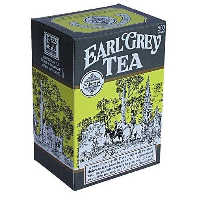 Черный чай Mlesna Эрл грей чай F.B.O.P. 03-020 100г.