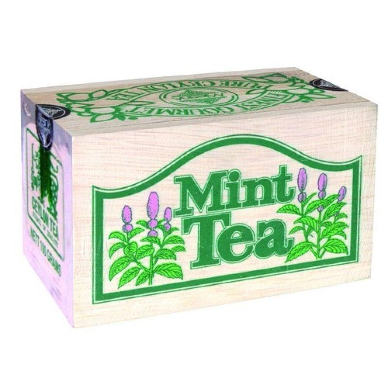 Черный чай Mlesna Мята 04-001_myata 100г.