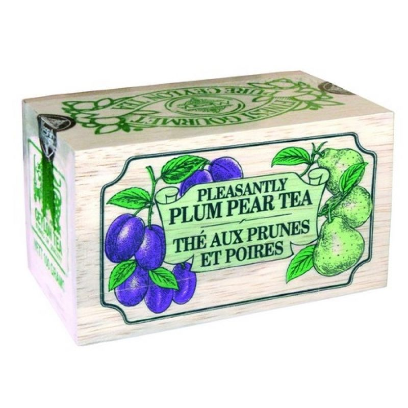 Черный чай Mlesna Слива-груша 04-001_sliva_grush 100г.
