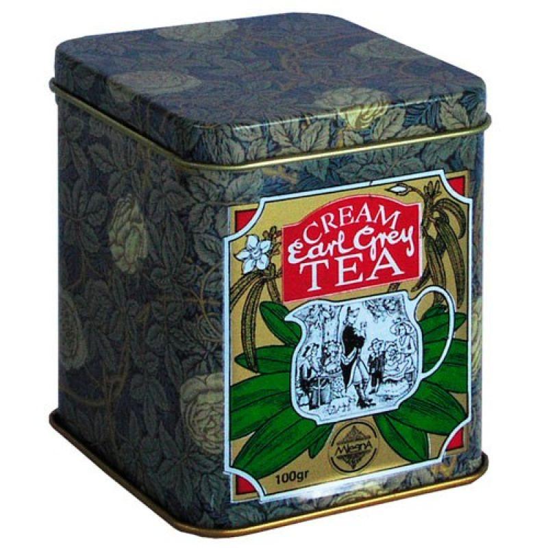 Черный чай Эрл грей со сливками 08-013 100г.