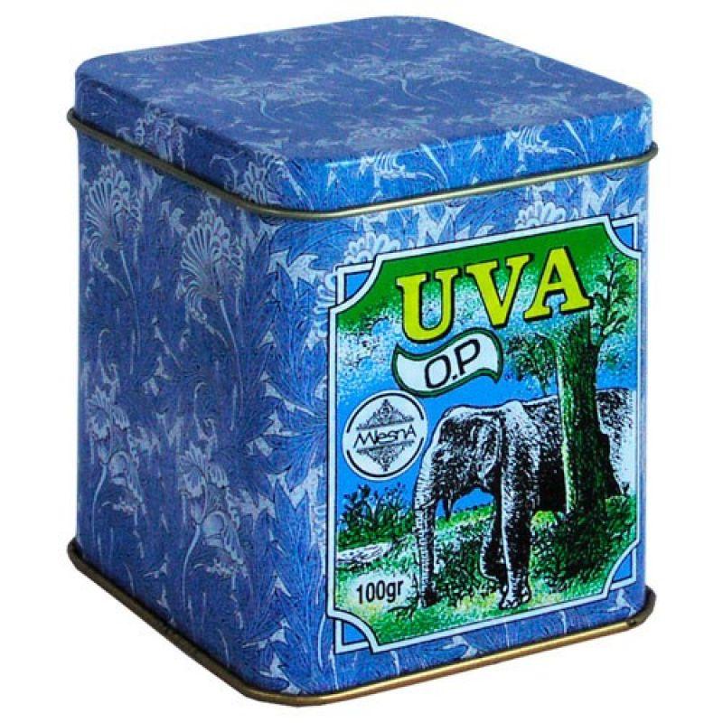 Черный чай Mlesna Ува В.O.P.1 08-017 100г.