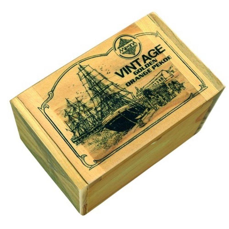 Черный чай Mlesna Винтедж Голден 05-007 125г.