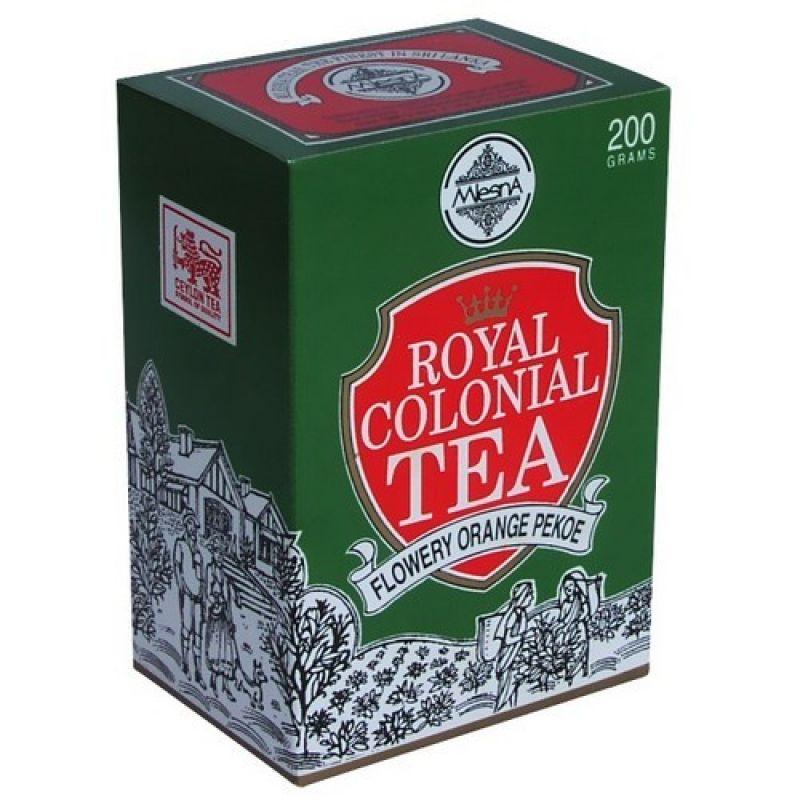 Черный чай Mlesna Роял Колониал F.O.P. 03-009 200г.