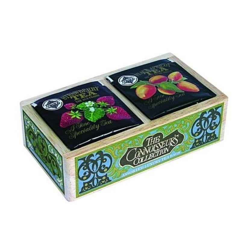 Коллекция знатока 2 вида черного ароматизированного чая Mlesna в пакетиках 04-033 40г.