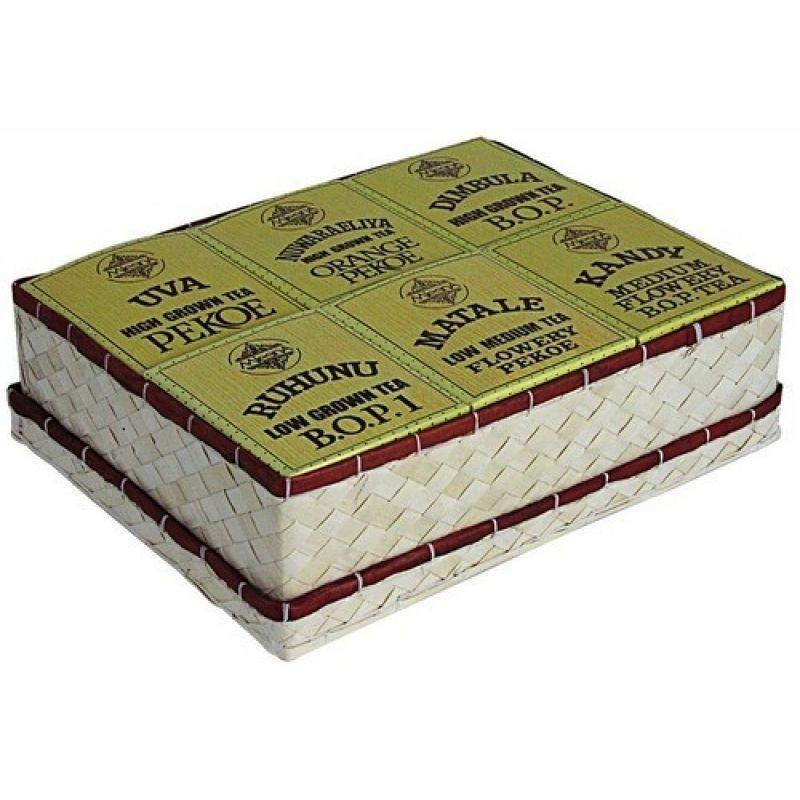 Черный чай Mlesna Набор из 6-ти видов 07-004 400г.