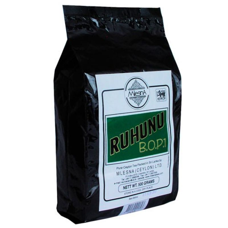 Черный чай Mlesna Рухуну F.B.O.P 01-044 500г.