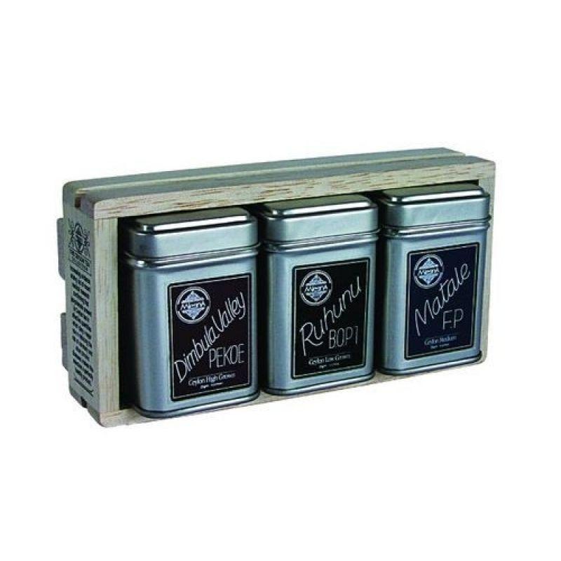 Черный чай Mlesna Набор из 3 видов 08-022 75г.