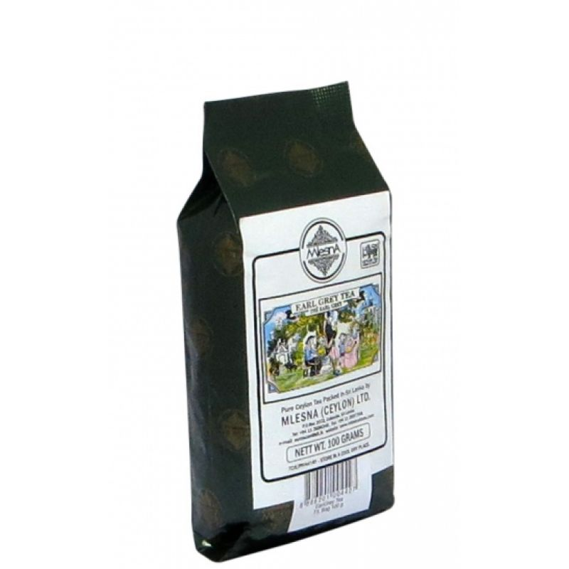 Черный чай Эрл грей 100г