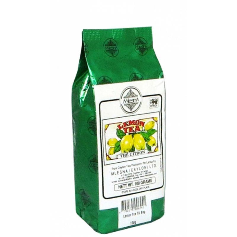 Черный чай Mlesna Лимон 100г