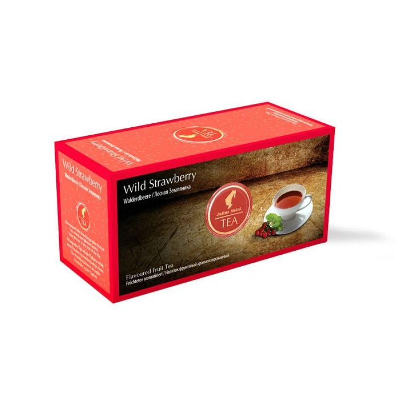 Пакетированный Фруктовый чай Julius Meinl Земляника 25 х 2,5 г