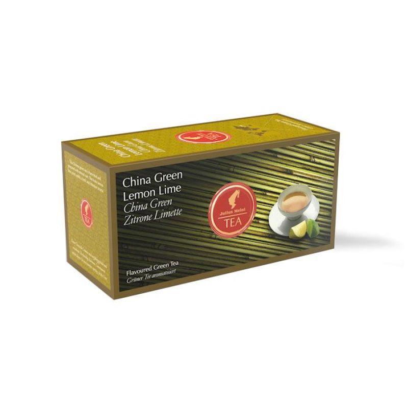 Зелёный чай JuliusMeinl лимон-лайма в пакетиках, 43,75г