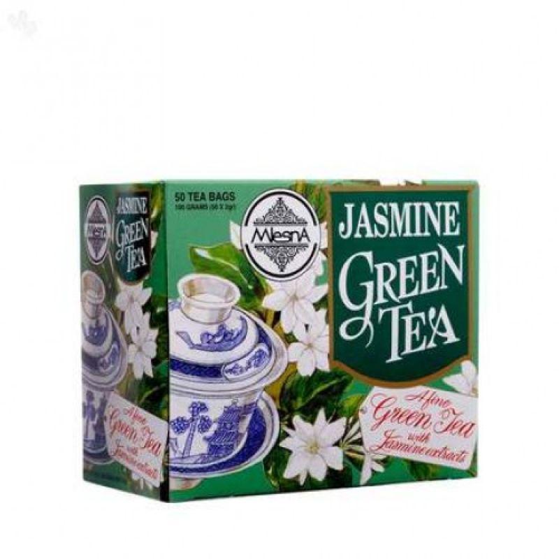 Зеленый чай Mlesna жасмин 50 пакетиков