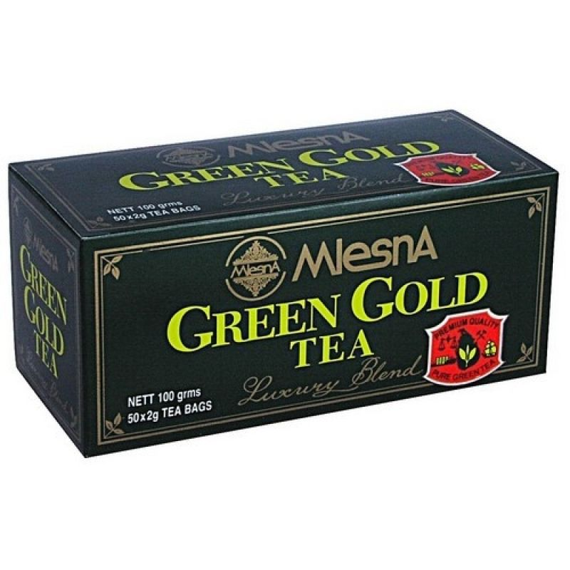 Зеленый чай Mlesna Грин Голд в пакетиках 02-031 100г.