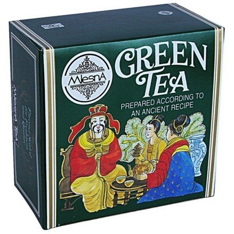 Зеленый чай Mlesna в пакетиках 02-029 100г.