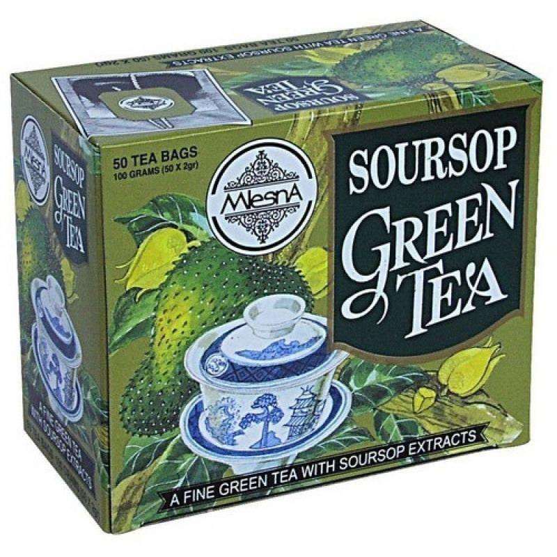 Зеленый чай Mlesna Саусеп в пакетиках 02-044_sausep 100г.