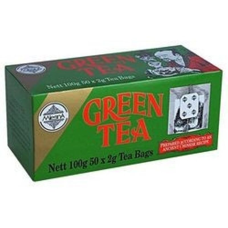 Зеленый чай Mlesna green tea 50 пакетиков