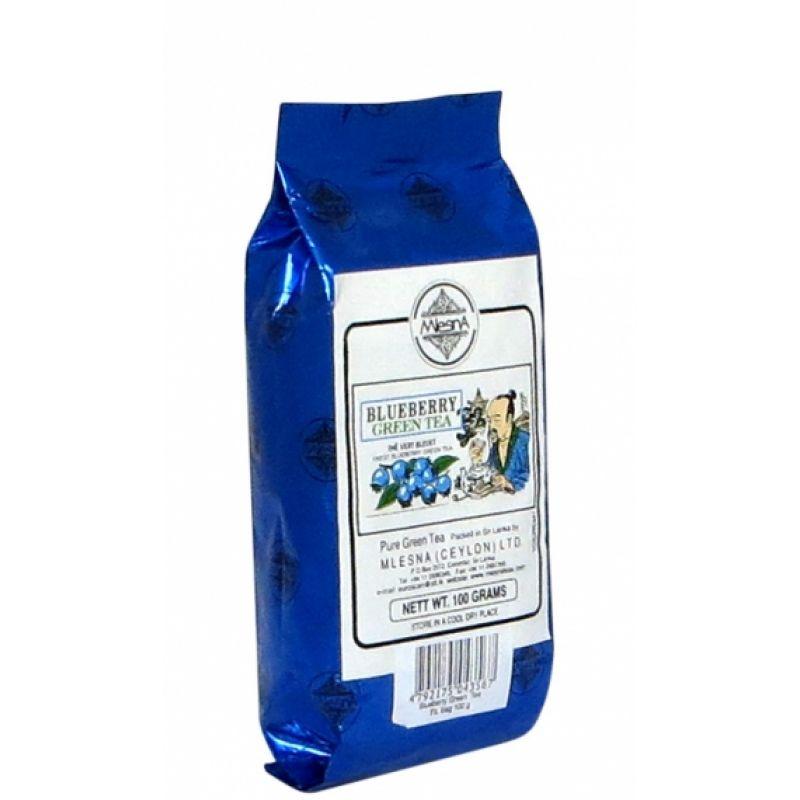 Зеленый чай Mlesna Голубика 100г