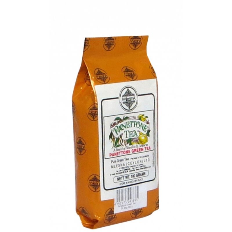 Зеленый чай Mlesna Паннетон 100г
