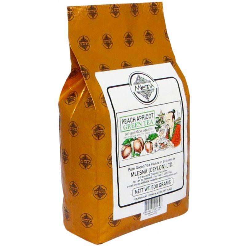Зеленый чай Mlesna Персик-абрикос 100г