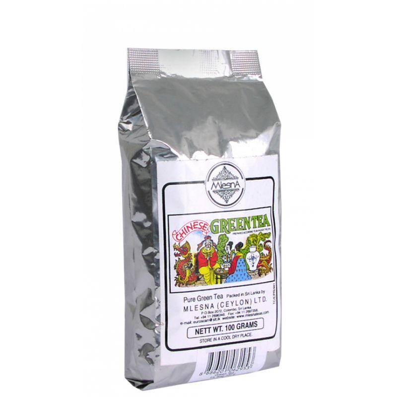 Зеленый чай Mlesna крупнолистовой 100г