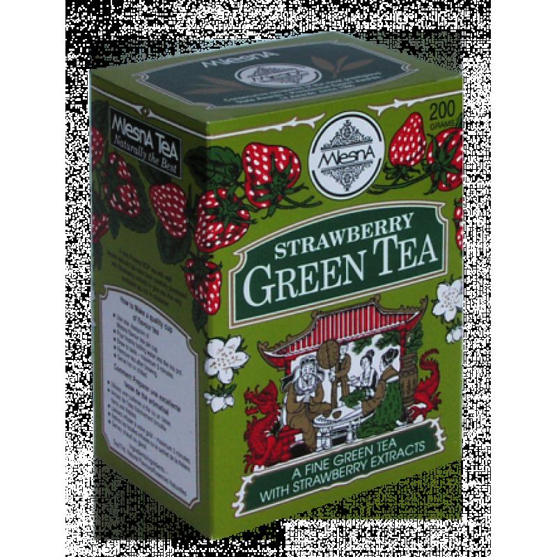 Зеленый чай Mlesna Клубника 200г