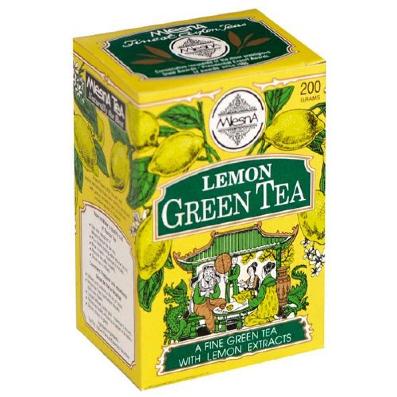 Зеленый чай Mlesna Лимон 03-040_lemon 200г.