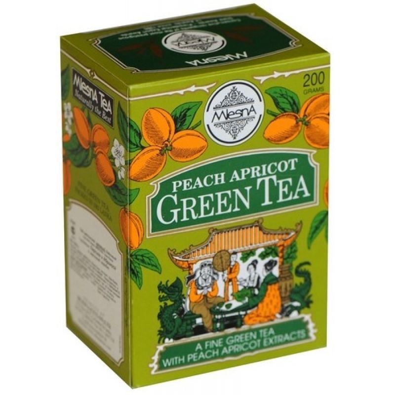Зеленый чай Mlesna Персик 03-040_persik 200г.