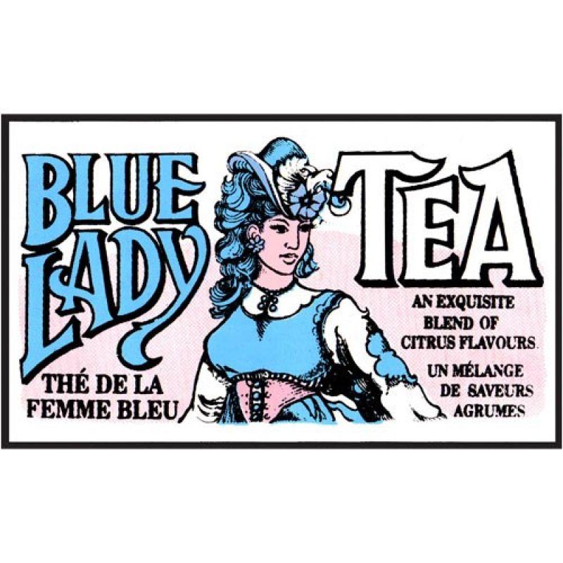 Зеленый чай Mlesna Блю леди цитрусовый  01-012_bluledi 500г.