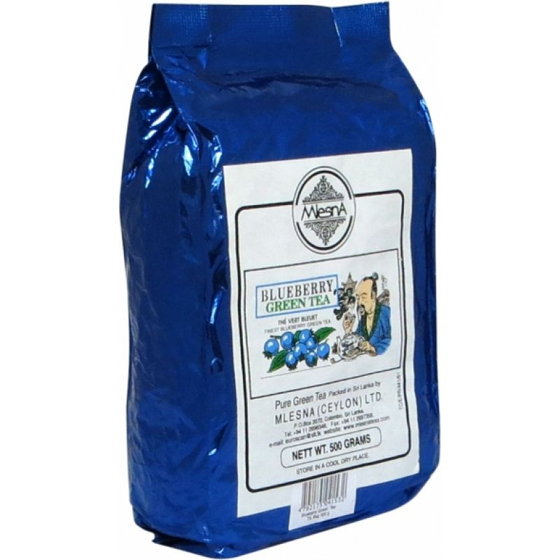 Зеленый чай Mlesna Голубика 500г