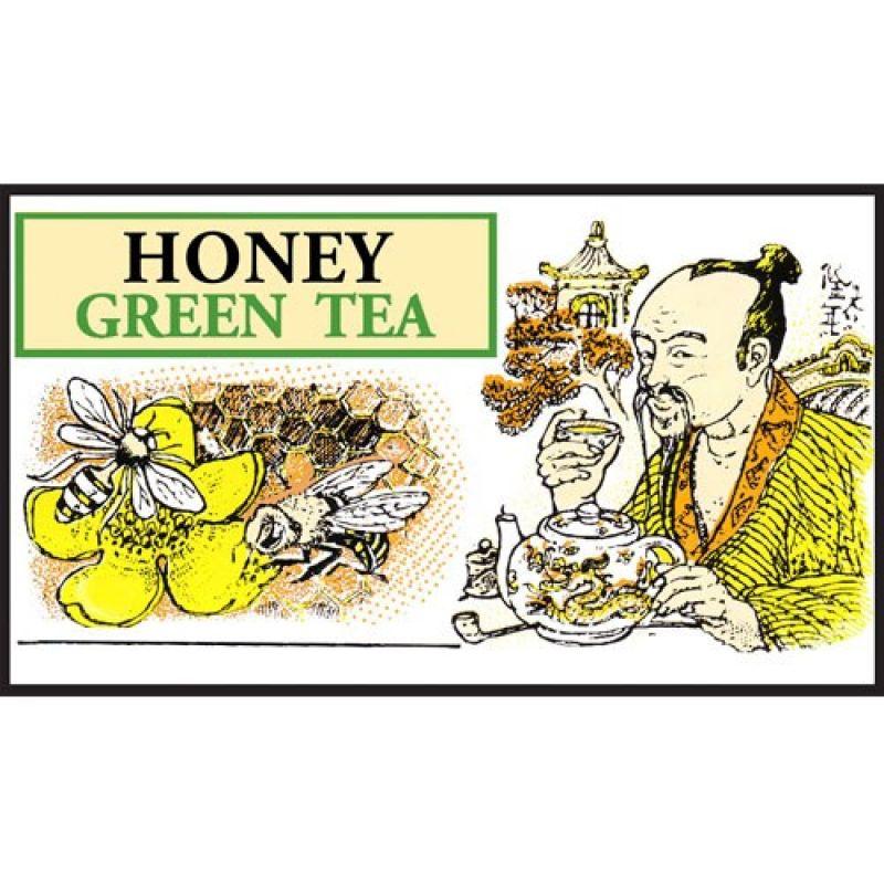 Зеленый чай Mlesna Мед 01-012_med 500г.
