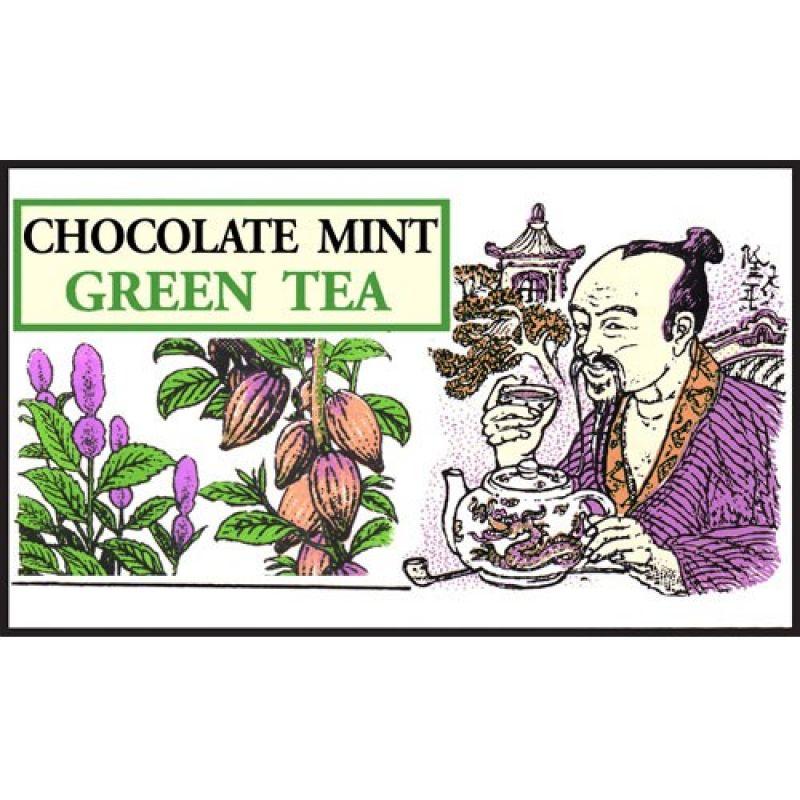 Зеленый чай Mlesna Мятно-шоколадный 01-012_myat_chokl 500г.