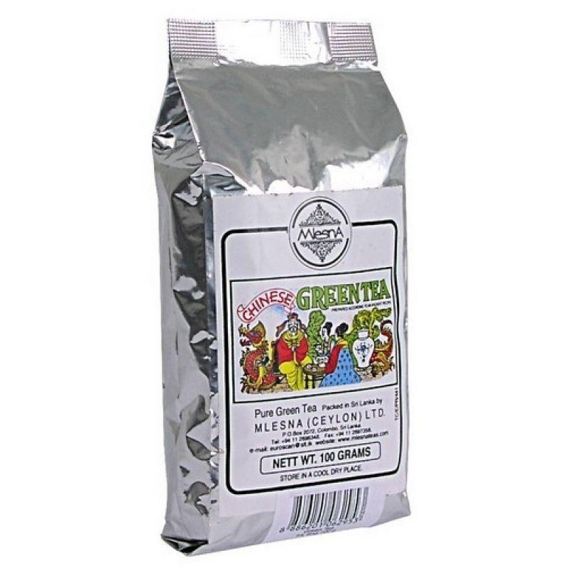 Зеленый чай крупнолистовой Mlesna 500г